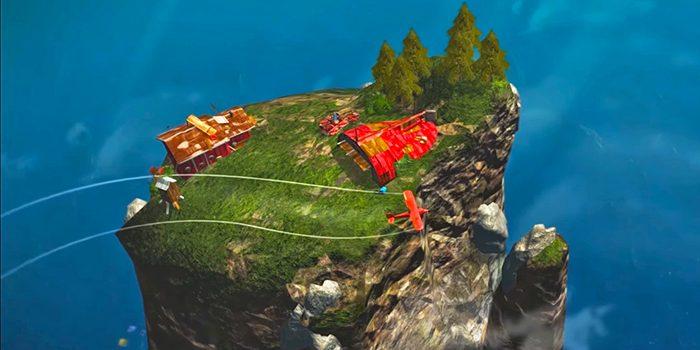 文明の大半が海に沈んだ広大で危険な世界を、兄を探すため赤い複葉機を駆って自由自在に飛び回るフライトアドベンチャーゲーム「Above」。