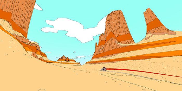 歴史を探求し、自身の存在理由を明らかにするため、荒涼とした砂の惑星を旅するオープンワールドアドベンチャー「Sable」は2019年リリース予定。
